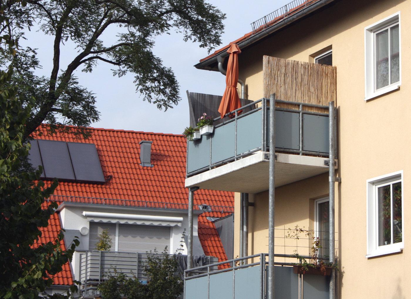 Bambus Als Sichtschutz Mit Naturlichem Ambiente Auf Dem Balkon